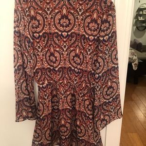cupcakes and cashmere open-back dress, NWT